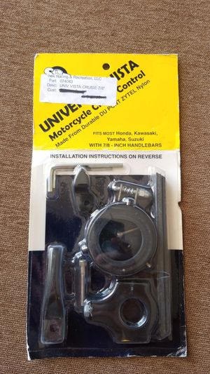 Universal 7/8 motorcycle cruise control for Sale in Mesa, AZ
