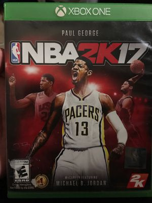 NBA 2K17+MADDEN17 for Sale in Ontario, CA
