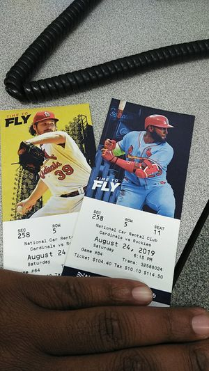 All inclusive 2x St. Louis Cardinals tickets for Sale in Evansville, IN
