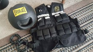 Weight vest /ball , etc for Sale in Durham, NC