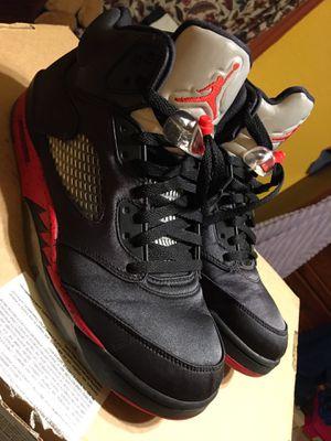 Air Jordan retro 5 satin bred for Sale in Fort Worth, TX