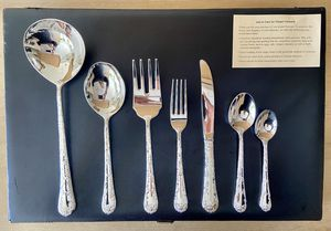 Silver Plated 51pc Flatware Set for Sale in Chicago, IL
