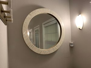 BRAND NEW - West Elm shell inlay 30 in mirror for Sale in Kirkland, WA