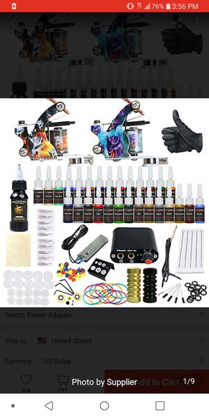 Tattoo equipment for Sale in Knoxville, TN