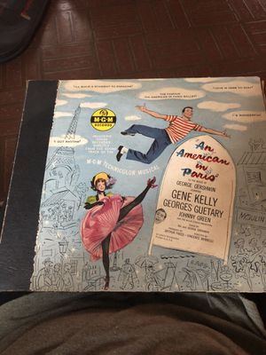 An American In Paris - Vinyl Box Set for Sale in Marshall, TX