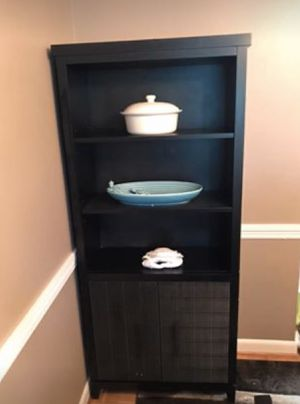 Black Bookcase for Sale in Beaverton, OR