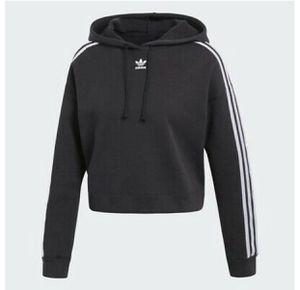 W adidas crop hoodie for Sale in Spring, TX