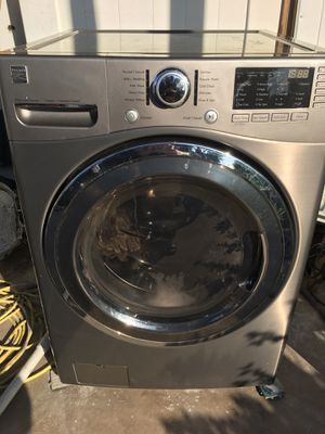 KENMORE WASHER AND DRYER LARGE CAPACITY WORKING PERFECTLY FINE for Sale in Pompano Beach, FL