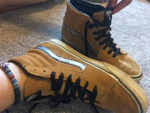 Size 7.5 camel/tan vans for Sale in Columbus, OH