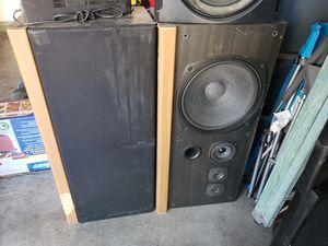 kenwood home audio speakers for Sale in Las Vegas, NV
