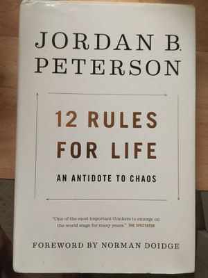 12 Rules for Life, by Jordan Peterson for Sale in New Orleans, LA