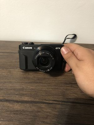 Canon PowerShot G7 X Mark II Digital Camera for Sale in Holland, MI