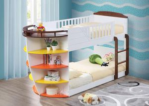 37715 Bunk Bed (Twin/Twin & Storage for Sale in San Antonio, TX