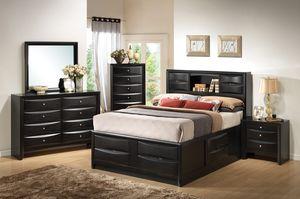 4-pcs bedroom set on sale @Elegant furniture 🎈🛋 for Sale in Fresno, CA