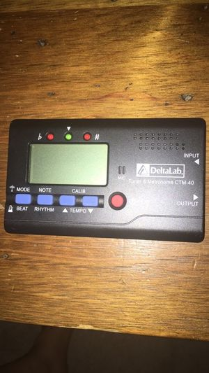 Tuner and metronome for Sale in Lancaster, NY