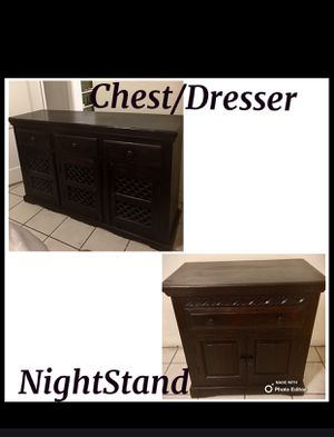 Chest/Dresser & NightStand Package Deal for Sale in Phoenix, AZ