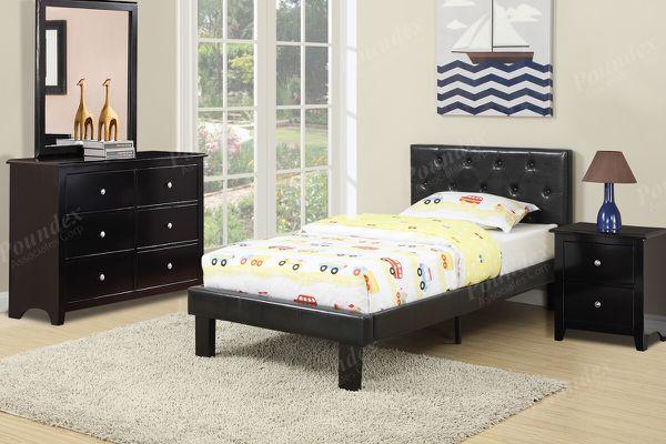 4-pcs twin bedroom set on sale @ Elegant Furniture 🛋🎈