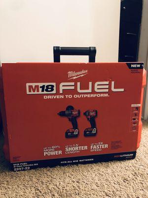 Milwaukee 2 tool combo kit for Sale in Clarksburg, CA