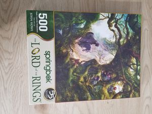 500 Piece Lord of the Rings Puzzle for Sale in Manville, NJ
