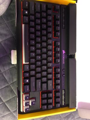 Corsair k63 gaming mechanical keyboard with cherry mx red switches for Sale in Portland, OR