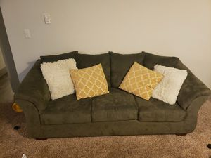 Ashley couch and loveseat for Sale in Tacoma, WA