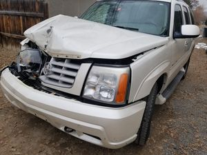 05 Cadillac Escalade parting out. engine is sold for Sale in Grand Junction, CO