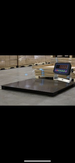 "40"" x 40"" Floor Scale 10,000 x 1 lb Free Delivery Anywhere in the U.S.A for Sale in Ontario, CA"