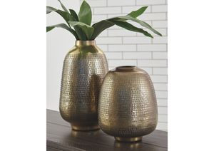 NEW, Miette Yellow Vase (Set of 2), SKU# A2000374 for Sale in Huntington Beach, CA
