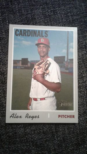 Alex Reyes. 2019 Topps Heritage Baseball Card #585 for Sale in Los Angeles, CA