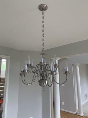 Dinning room chandelier for Sale in Stone Ridge, VA