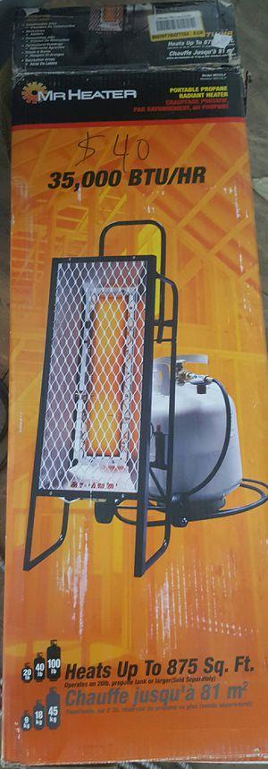 35,000 BTU Radiant LP Portable Heater for Sale in Las Vegas, NV