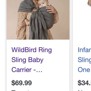 Ring Sling Baby Carrier for Sale in Dallas, TX
