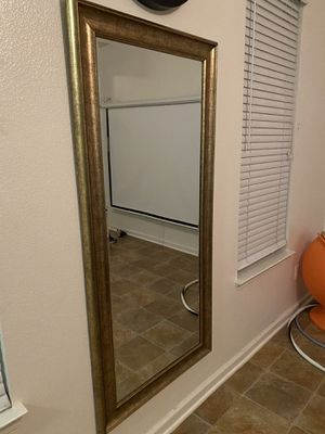 Gold Framed Mirror for Sale in San Diego, CA