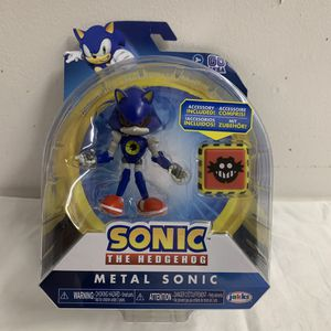 "Sonic The Hedgehog Metal Sonic with Trap Spring 4"" Sonic Figure NEW for Sale in Hialeah, FL"