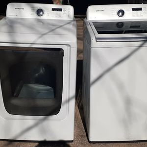 SAMSUNG VRT WASHER/DRYER ELECTRIC SET for Sale in Houston, TX