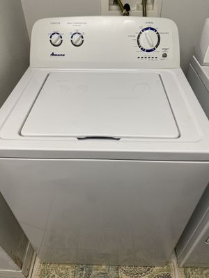 Washer & Dryer (Amana washer - whirlpool dryer)Will be donating in morning ,if interested come now... for Sale in Zephyrhills, FL
