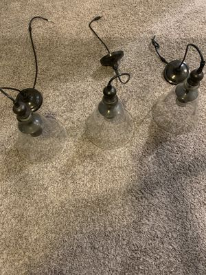Hanging kitchen / bar lights for Sale in Las Vegas, NV