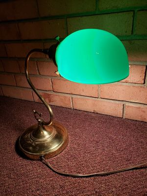 Brass Bankers Lamp for Sale in Fairfax, VA