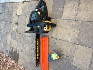 """McCulloch 16"""" chainsaw for Sale in Murrieta, CA"""