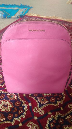 Michael Kors Emmy Saffiano Leather Backpack for Sale in San Antonio, TX