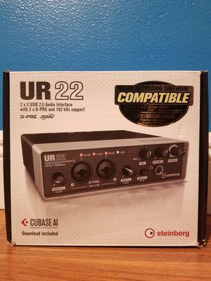 Steinberg UR22 2-Channel USB 2.0 Audio/MIDI Interface for Sale in North Miami Beach, FL