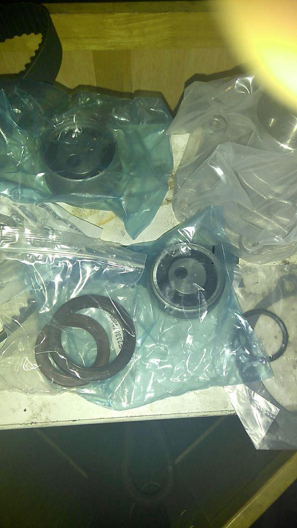 Timing belt kit with water pump Mitsubishi 2.4
