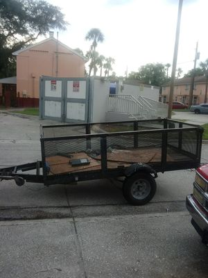 Good trailer needs a good home good tires very sturdy all lights work any questions please ask asking 900 or best offer for Sale in Tampa, FL