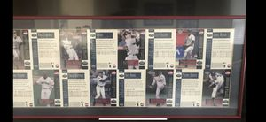 Seattle Mariners Framed Baseball Cards for Sale in Visalia, CA