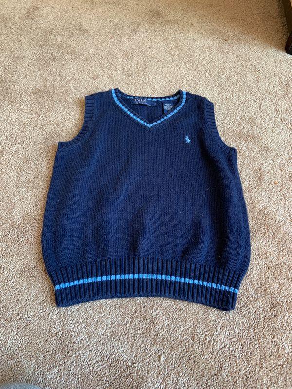 Boy clothes Polo by Ralph Lauren sweater vest size 5