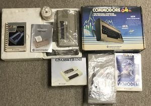 Commodore 64 computer system w/Vic-20, Disk Drive,Cassette, And Printer all Complete/ video game system for Sale in New Holland, PA