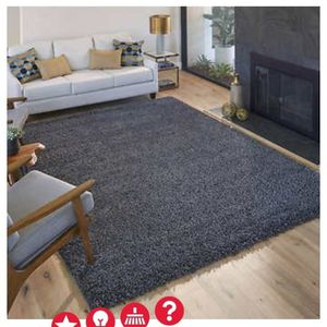 Thomasville Marketplace Luxury Shag GRAY Rug - 7 ft. 10 in. x 10 ft (BRAND NEW) for Sale in Baltimore, MD