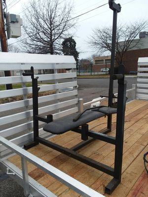 Olympic weight bench for Sale in Erie, PA