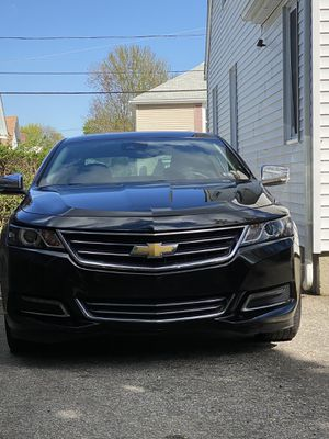 Chevy impala Ltz fully loaded great condition black on black heated everything backup camera navigation onstar blue tooth road side assistant don't m for Sale in Providence, RI
