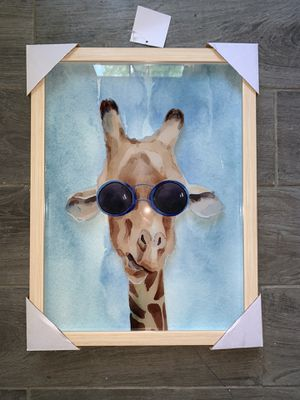 Giraffe Wall Art - New! for Sale in Jessup, MD